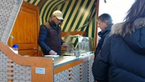 Strandkorb-Kiosk a.d. Ostsee (Foto © SBS)